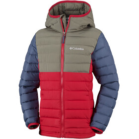 Columbia Powder Lite - Veste Enfant - rouge/Multicolore